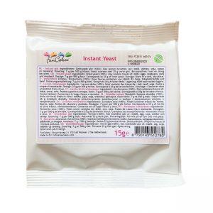Instantné droždie 15 g - FunCakes - sušené droždie - čestvé droždie - kde majú droždie - kde kúpim droždie